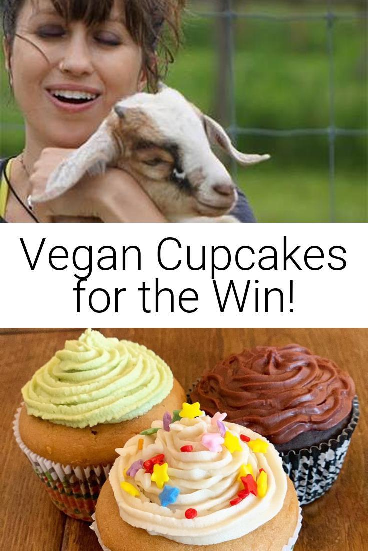 Vegan Cupcakes for the Win!