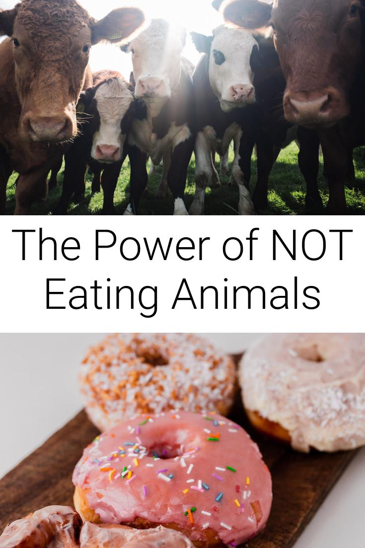 The Power of NOT Eating Animals