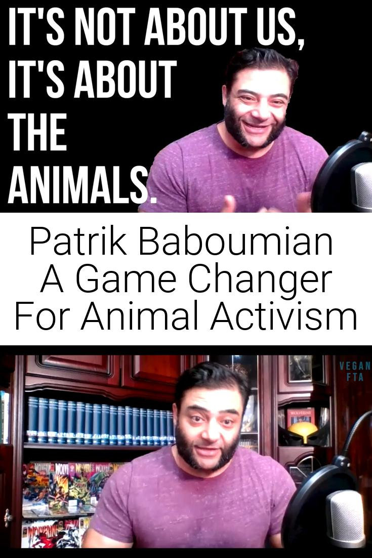 Patrik Baboumian   A Game Changer For Animal Activism