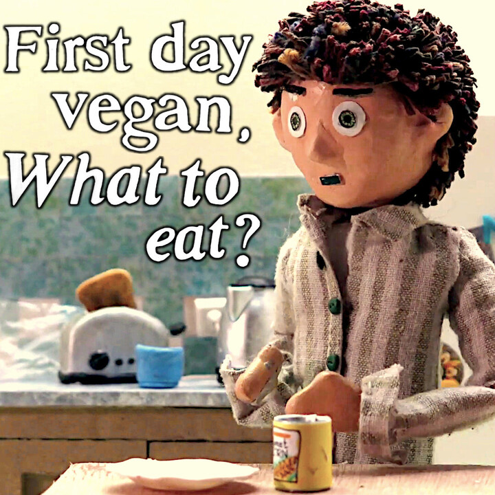 First Day Vegan, What to Eat?
