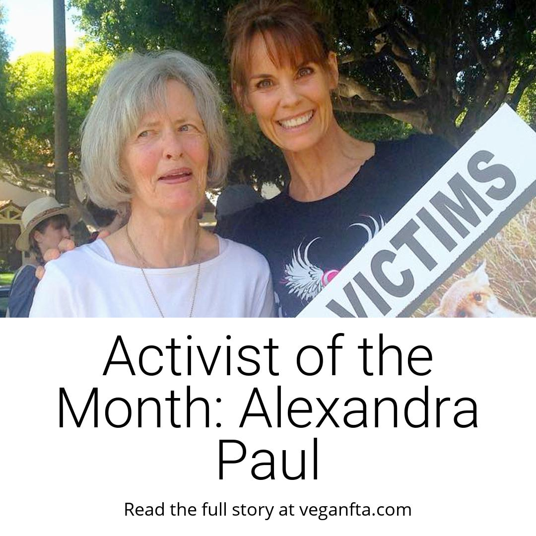 Activist of the Month: Alexandra Paul