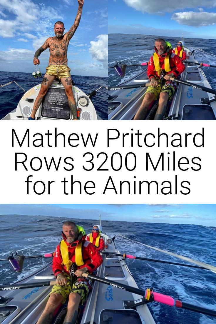 Mathew Pritchard Rows 3200 Miles for the Animals