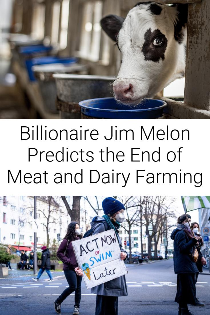 Billionaire Jim Melon Predicts the End of Meat and Dairy Farming