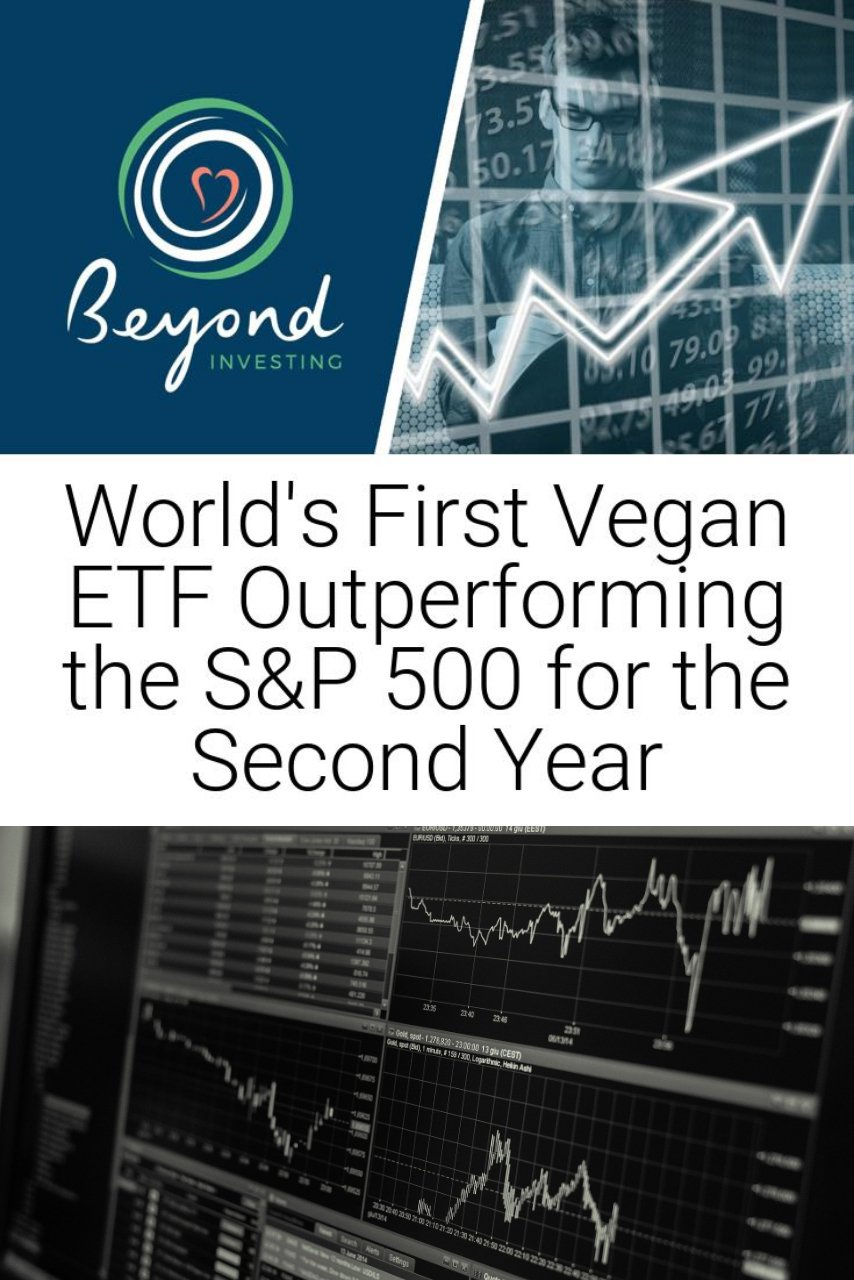 World\'s First Vegan ETF Outperforming the S&P 500 for the Second Year